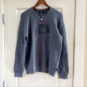BNWT Ted Baker Traffik Textured Pullover Sweater